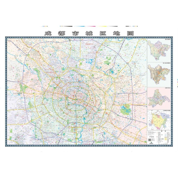 成都市城区地图