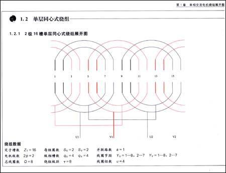 电机绕组接线图册