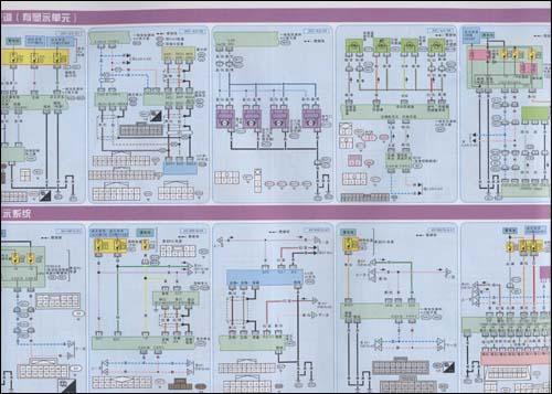 尼桑肖客车底盘结构图