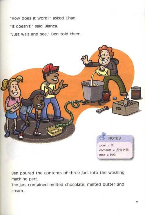 新理念英语阅读 初中一年级 第3册