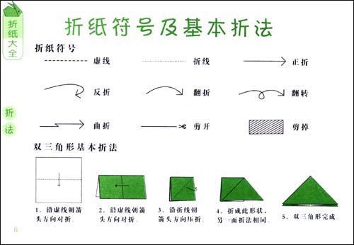 西瓜折纸步骤图