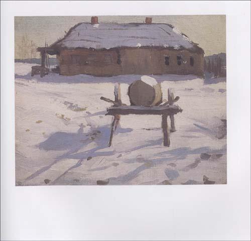 风景画作品②/近现代俄罗斯油画