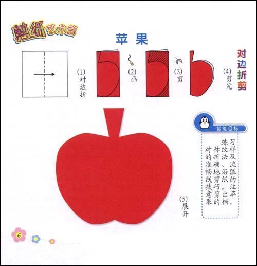 六角蝴蝶剪纸步骤图