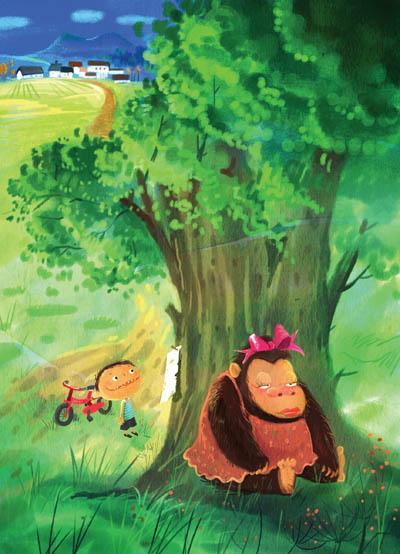 """当""""睡不着森林""""的小动物为失眠烦恼的时候"""